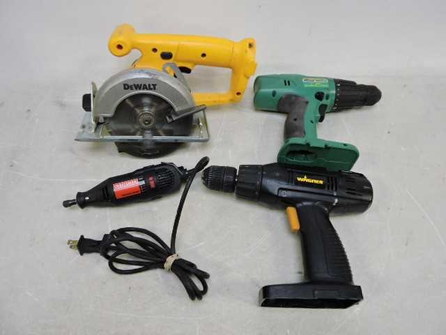 Corded and Cordless Power Tools